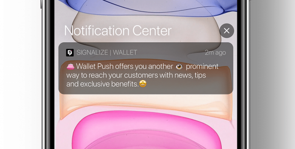 Wallet Push snippet